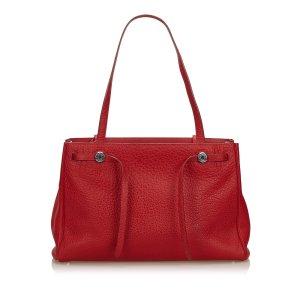 Hermes Leather Herbag Cabas
