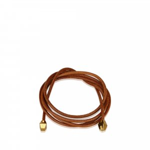 Hermes Leather Rope Waist Belt