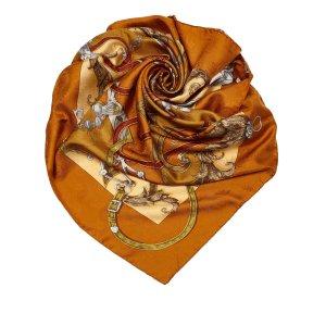 Hermes LInstruction du Roy Silk Scarf