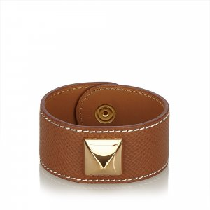 Hermes Medor Leather Bracelet