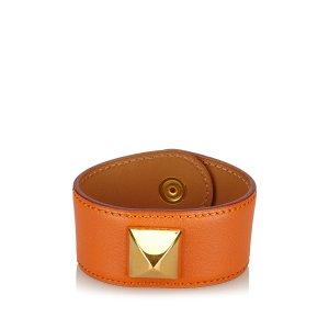 Hermes Medor Leather Bracelet