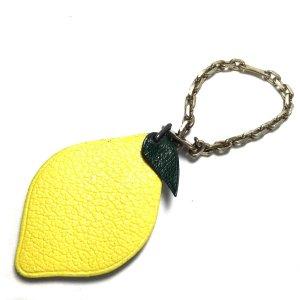 Hermès Mysore Anhänger Taschenschmuck Charm Zitrone Lemon
