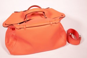 Hermes Orange Oxer Messenger Bag