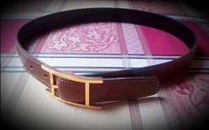 Hermès Waist Belt bronze-colored