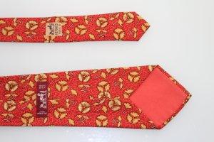 Hermes Paris Krawatte Blumenmuster