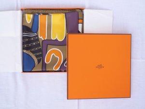 Hermès Foulard multicolore