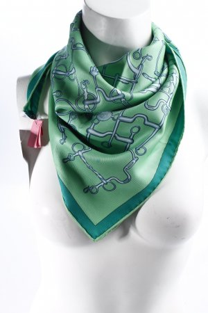 Hermes Paris Seidentuch abstraktes Muster extravaganter Stil