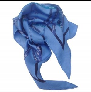 Hermes Paris Silk Cloth multicolored silk