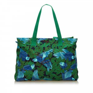 Hermes Printed Cotton Tote Bag
