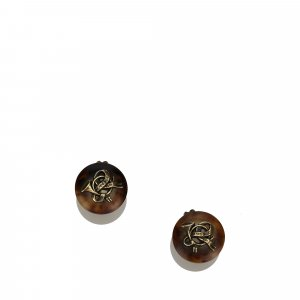Hermes Round Clip On Earrings