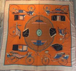 Hermès Sciarpa di lana arancione