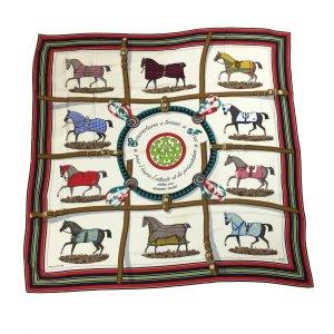 Hermès Schal Tuch Stola aus Kaschmir und Seide in Größe 140 x 140 cm