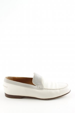 Hermès Slip-on Shoes white-light grey business style