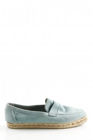 Hermès Slip-on Shoes turquoise casual look