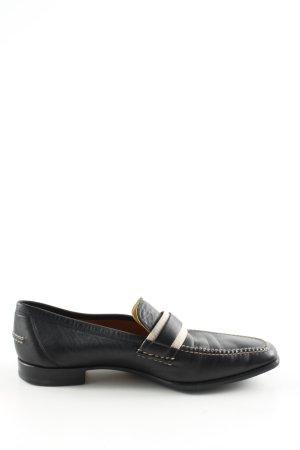 Hermès Schlüpfschuhe schwarz Business-Look