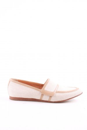 Hermès Slip-on Shoes natural white-nude casual look
