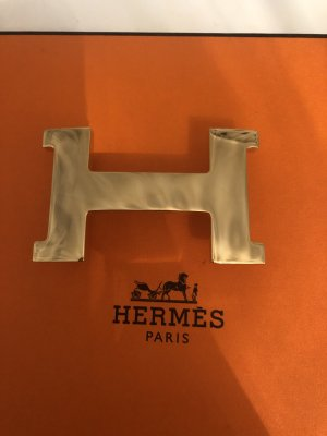 Hermès Belt Buckle gold-colored