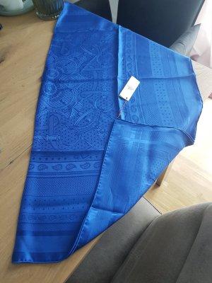Hermès Silk Scarf blue