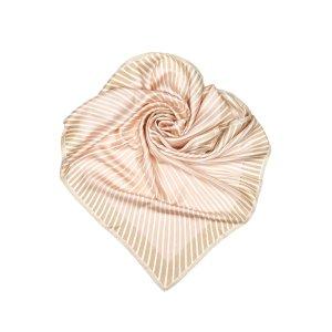 Hermès Sjaal lichtroze Zijde