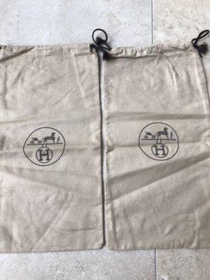 Hermès Canvas Bag light grey