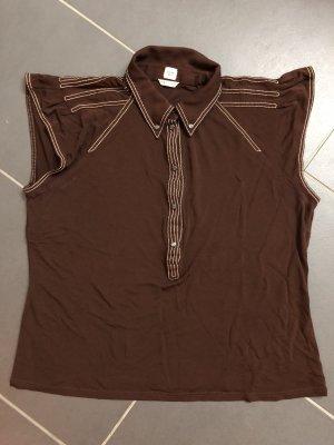 Hermès T-Shirt Braun Gr. FR 42 DE 40