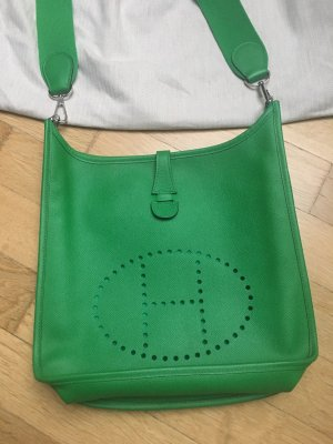 Hermes Tasche Evelyn Gr 29 grün neu