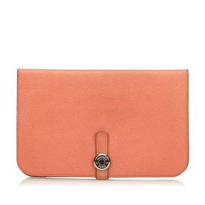 Hermes Togo Dogon Calfskin Wallet