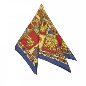 Hermes Torana Silk Scarf
