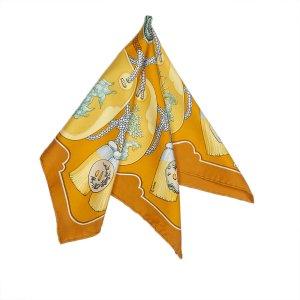 Hermes Tsubas Silk Scarf