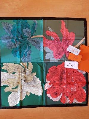 HERMES Tuch Carré 90 x 90 cm, 100 % Seide samt Knotting Cards