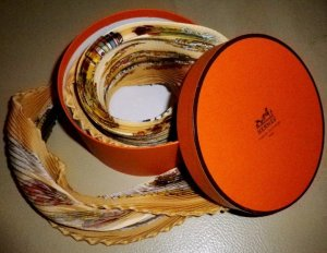 HERMES TUCH COUVEE D HERMES Latham PLISSEE