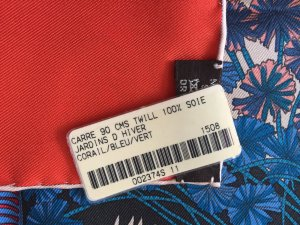 Hermès Silk Cloth multicolored