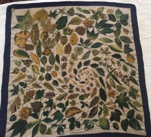 Hermès Sjaal van kasjmier veelkleurig