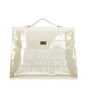 Hermès Handtas wit Chloorvezel
