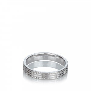 Hermès Ring silver-colored real gold