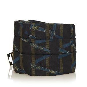 Hermès Cintura nero Seta