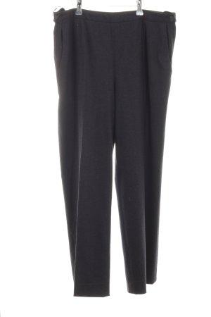 Hermès Wollen broek zwart zakelijke stijl