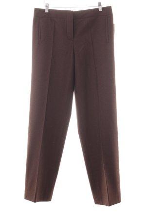 Hermès Woolen Trousers dark brown classic style