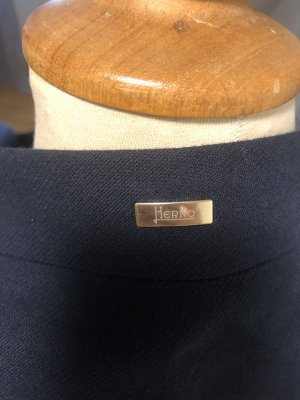 HERNO-Mantel dunkelblau