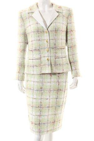Hero Paris Ladies' Suit glen check pattern '60s style