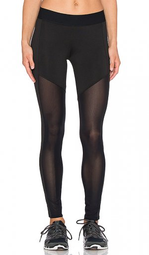Heroine Sport Leggings schwarz-grau Casual-Look