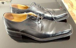 Budapest schoenen zwart Leer