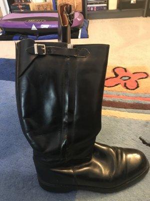 Continental Jackboots black leather