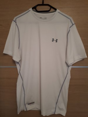 Under armour Camisa deportiva blanco-color plata