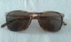 Herren-/Unisex Sonnenbrille Holzoptik braun