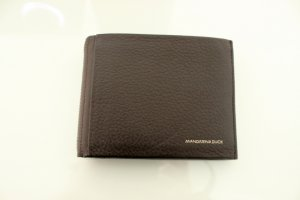 Mandarina Duck Wallet dark brown leather