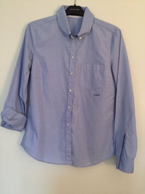 Herrenhemd Style mit Button-down-Kragen und Stickerei S.E.T. in Gr. 36