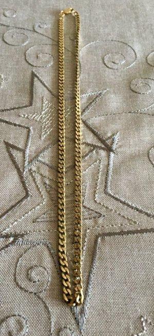Herringbone Halskette vergoldet