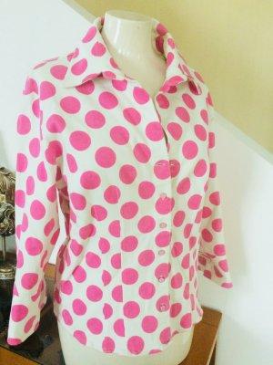 Nadine H. Blazer de tela de sudadera multicolor Algodón
