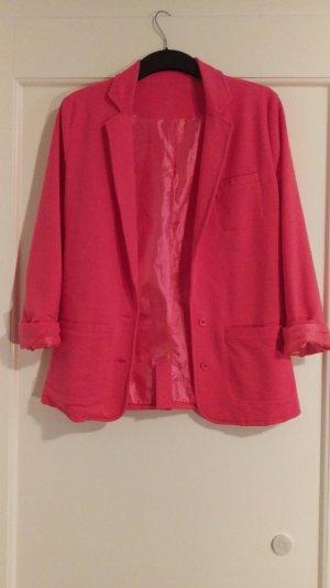 Herrlich weicher Jersey-Blazer in Pink